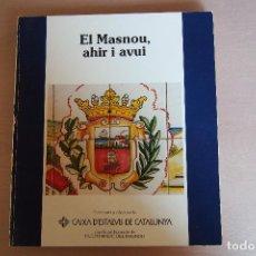 Libros de segunda mano: LIBRO EL MASNOU, AHIR I AVUI. CATALAN. MARESME. AJUNTAMENT DEL MASNOU Y CAIXA CATALUNYA. VER FOTOS. Lote 126266399