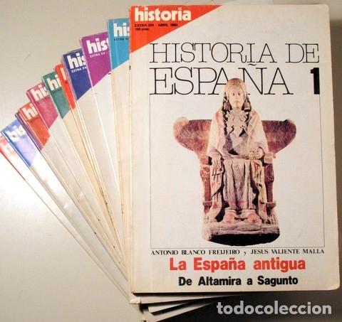 BLANCO, ANTONIO - VALIENTE, JESUS Y OTROS - HISTORIA DE ESPAÑA (13 VOL. - COMPLETO) - MADRID 1980 - (Libros de Segunda Mano - Historia Moderna)