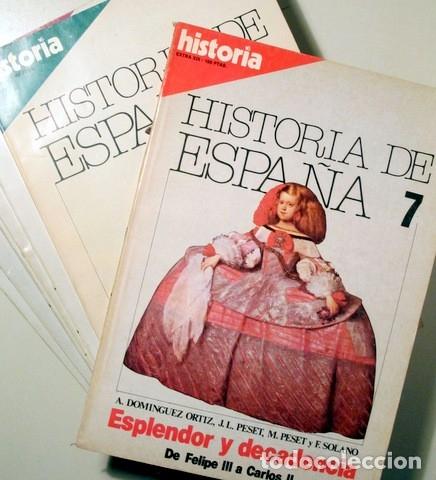 Libros de segunda mano: BLANCO, Antonio - VALIENTE, Jesus y otros - HISTORIA DE ESPAÑA (13 vol. - Completo) - Madrid 1980 - - Foto 2 - 126619155