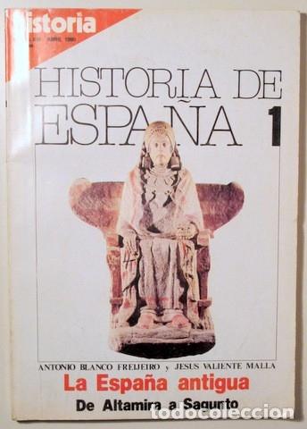 Libros de segunda mano: BLANCO, Antonio - VALIENTE, Jesus y otros - HISTORIA DE ESPAÑA (13 vol. - Completo) - Madrid 1980 - - Foto 4 - 126619155