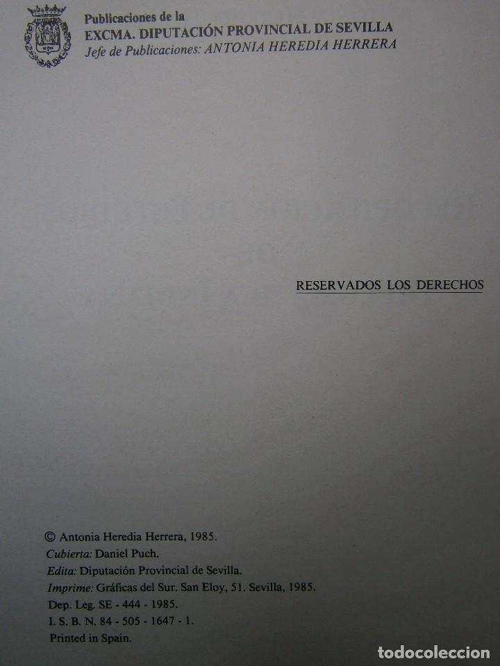 Libros de segunda mano: RECOPILACION DE ESTUDIOS DE DIPLOMATICA INDIANA Antonia Heredia Herrera 1985 - Foto 8 - 126956775