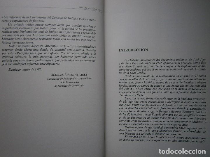 Libros de segunda mano: RECOPILACION DE ESTUDIOS DE DIPLOMATICA INDIANA Antonia Heredia Herrera 1985 - Foto 10 - 126956775