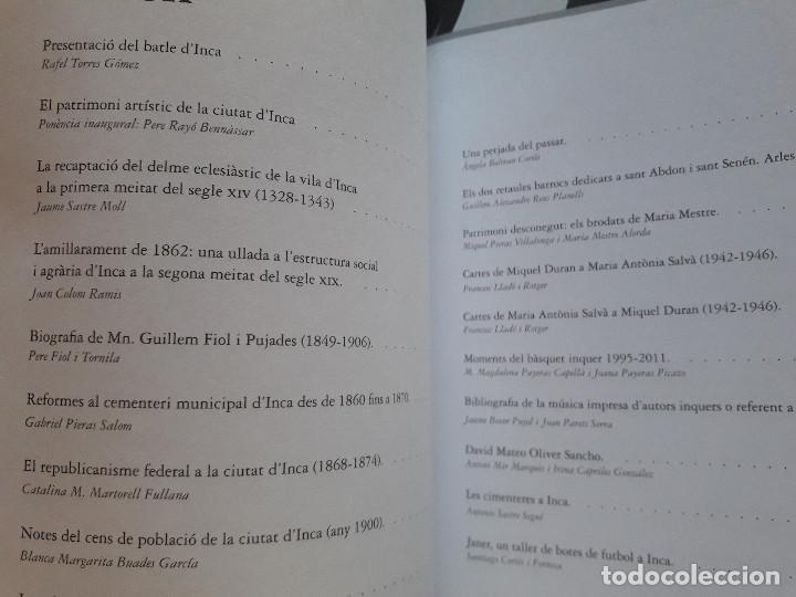 Libros de segunda mano: XII Jornades d´estudis locals. Ajuntament d´Inca Mallorca 2011 - Foto 3 - 127639835