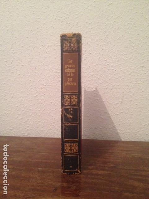 Libros de segunda mano: Los grandes enigmas de la paz precaria (I) - Foto 2 - 128001067