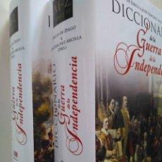 Libros de segunda mano: DICCIONARIO DE LA GUERRA DE LA INDEPENDENCIA. EMILIO DE DIEGO Y JOSÉ SÁNCHEZ-ARCILLA (DIRS.). Lote 128266039