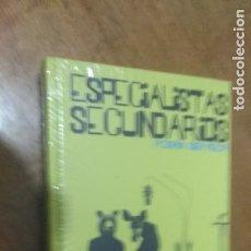 Libros de segunda mano: ESPECIALISTAS SECUNDARIOS , PODRIA SER PEOR , LIBRO + CD. Lote 128290427