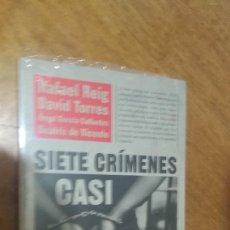 Libros de segunda mano: REIG , TORRES ETC.... , SIETE CRIMENES CASI PERFECTOS. Lote 128291395