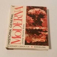 Libros de segunda mano: HISTORIA GENERAL MODERNA JAIME VICENS VIVES TOMO 2 MONTANER Y SIMON. Lote 137268270