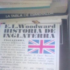 Libros de segunda mano: HISTORIA DE INGLATERRA - E.L. WOODWARD - ALIANZA EDITORIAL, 1974. Lote 131221832