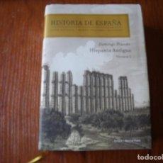 Libros de segunda mano: LIBRO HISTORIA DE ESPAÑA HISPANIA ANTIGUA DOMINGO PLACIDO. Lote 131242027