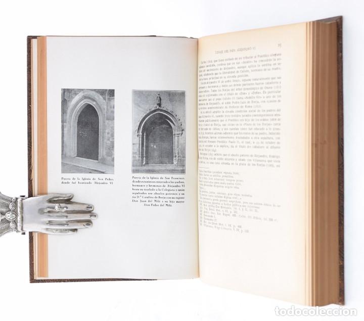 Libros de segunda mano: LOS BORJAS DE LA LEYENDA ANTE LA CRÍTICA HISTÓRICA. MATERIAL PARA UNA HISTORIA DEL PAPA ALEJANDRO VI - Foto 4 - 132295899