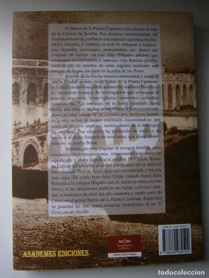 Libros de segunda mano: EL CORAZON DE SEVILLA Rafael Raya Rasero autor editor 2005 - Foto 4 - 132789418