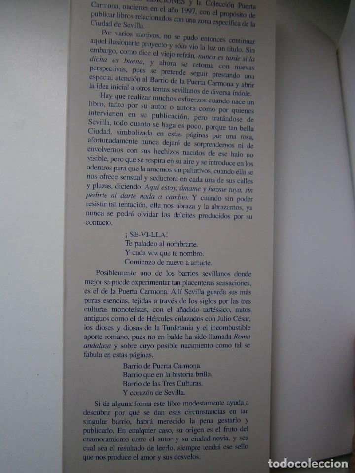 Libros de segunda mano: EL CORAZON DE SEVILLA Rafael Raya Rasero autor editor 2005 - Foto 8 - 132789418