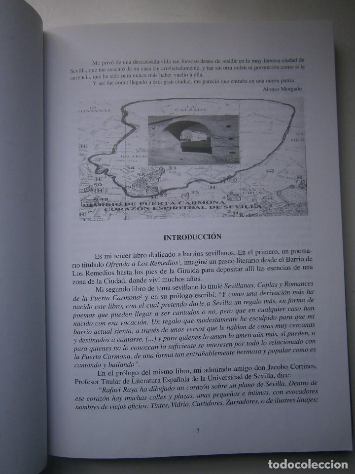 Libros de segunda mano: EL CORAZON DE SEVILLA Rafael Raya Rasero autor editor 2005 - Foto 11 - 132789418
