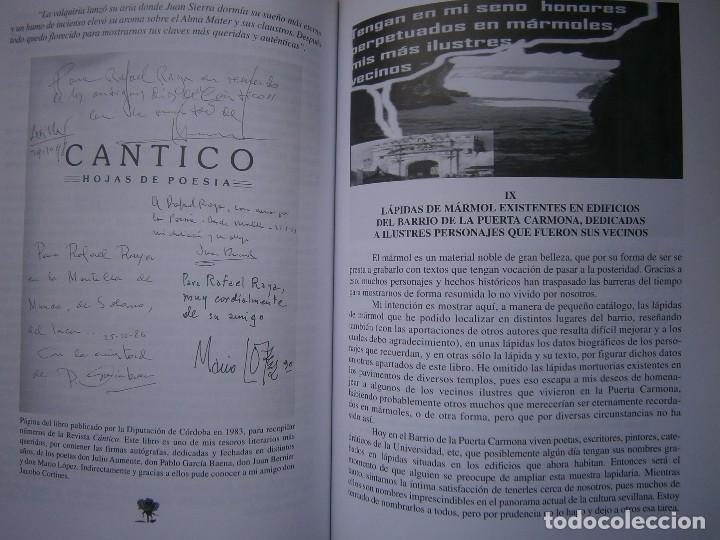 Libros de segunda mano: EL CORAZON DE SEVILLA Rafael Raya Rasero autor editor 2005 - Foto 16 - 132789418