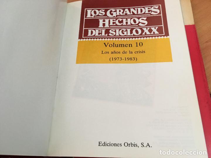 Libros de segunda mano: LOS GRANDES HECHOS DEL SIGLO XX. COMPLETA EN 10 TOMOS CON 480 FASCIMIL DE PERIODICOS DE EPOCA (LB35) - Foto 4 - 132984782