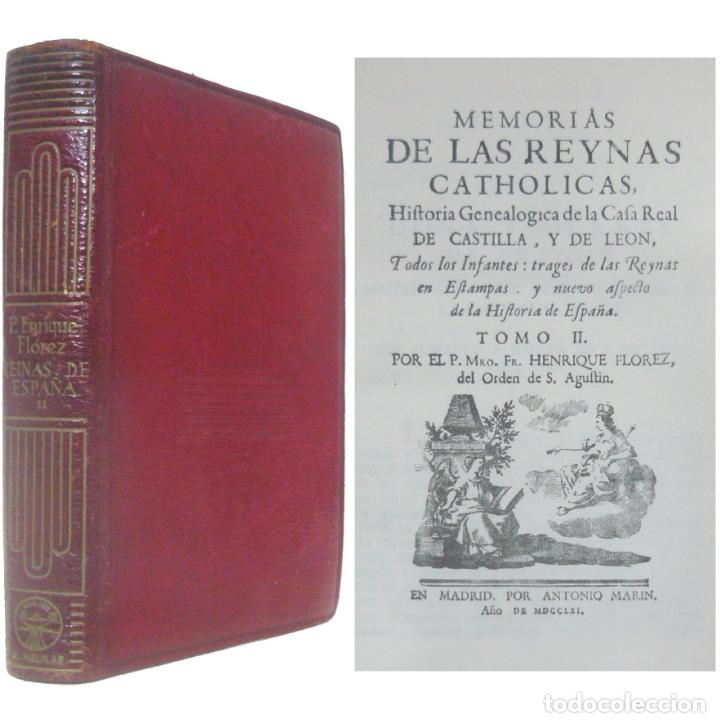 1945 - AGUILAR - MEMORIAS DE LAS REINAS CATÓLICAS DE ESPAÑA. TOMO II - CRISOL - PAPEL BIBLIA, PIEL (Libros de Segunda Mano - Historia Moderna)