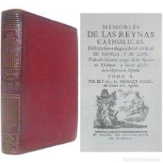 Libros de segunda mano: 1945 - AGUILAR - MEMORIAS DE LAS REINAS CATÓLICAS DE ESPAÑA. TOMO II - CRISOL - PAPEL BIBLIA, PIEL. Lote 178572186