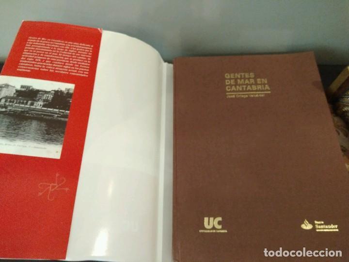 Libros de segunda mano: GENTES DE MAR EN CANTABRIA - JOSE ORTEGA VARCACEL - UNIVERSIDAD DE CANTABRIA - BANCO SANTANDER - Foto 3 - 133007130