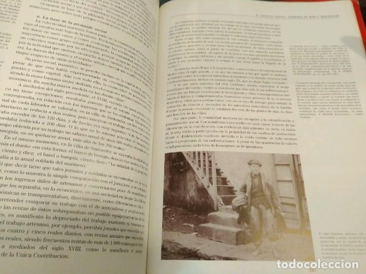 Libros de segunda mano: GENTES DE MAR EN CANTABRIA - JOSE ORTEGA VARCACEL - UNIVERSIDAD DE CANTABRIA - BANCO SANTANDER - Foto 9 - 133007130