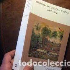 Libros de segunda mano: HISTORIA DE ESTADOS UNIDOS 1607 - 1992. MALDWYN A. JONES. Lote 135309706