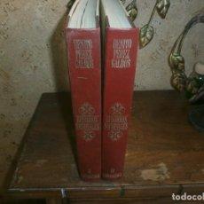 Libros de segunda mano: EPISODIOS NACIONALES BENITO PEREZ GALDOS URBIÓN TOMOS II Y III. Lote 135508946