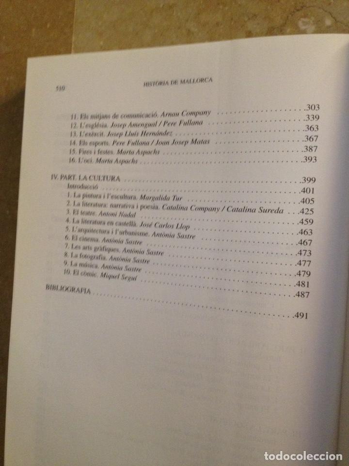 Libros de segunda mano: Història de Mallorca Volum III (1975 - 1998) Camil.la Blanes, Antoni Marimon - Foto 3 - 136456770