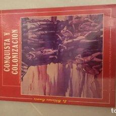 Libros de segunda mano: LIBRO HISTORIA DE CANARIAS. CONQUISTA Y COLONIZACIÓN ISLAS CANARIAS. Lote 136506554