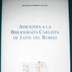 Libros de segunda mano: BIBLIOGRAFÍA CARLISTA S. XIX. Lote 187534016