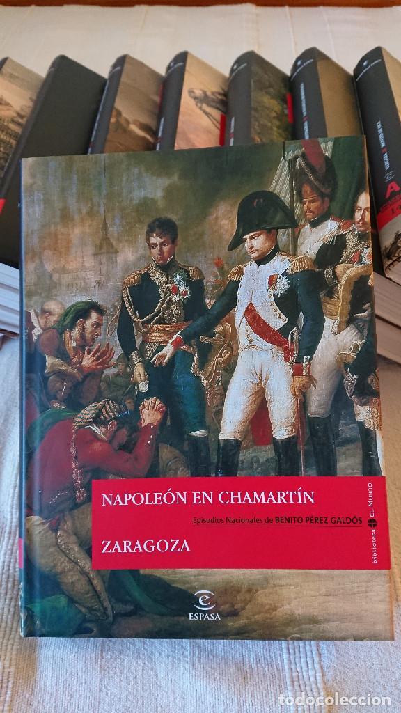 Libros de segunda mano: Episodios Nacionales de Benito Perez Galdos - 23 tomos - tapa dura consobrecubierta ilustrada - Foto 2 - 137395878