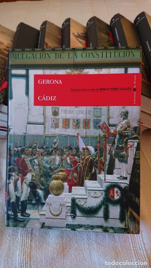Libros de segunda mano: Episodios Nacionales de Benito Perez Galdos - 23 tomos - tapa dura consobrecubierta ilustrada - Foto 3 - 137395878