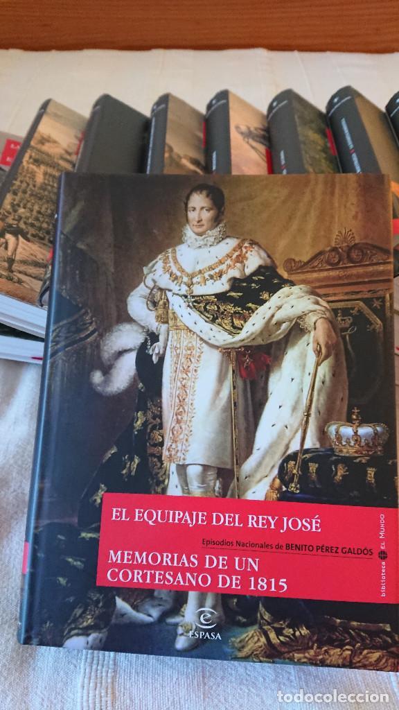 Libros de segunda mano: Episodios Nacionales de Benito Perez Galdos - 23 tomos - tapa dura consobrecubierta ilustrada - Foto 4 - 137395878