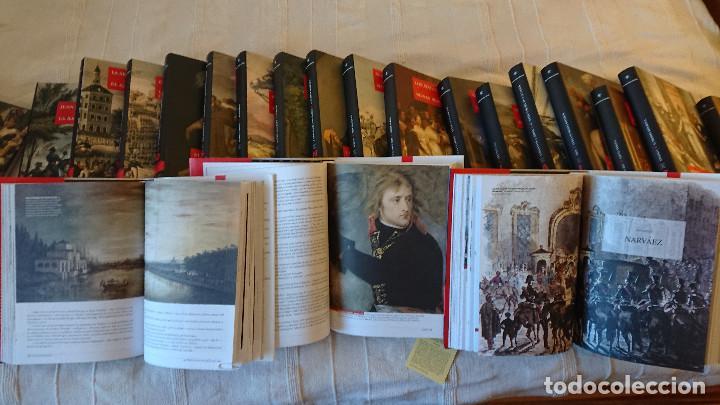 Libros de segunda mano: Episodios Nacionales de Benito Perez Galdos - 23 tomos - tapa dura consobrecubierta ilustrada - Foto 6 - 137395878