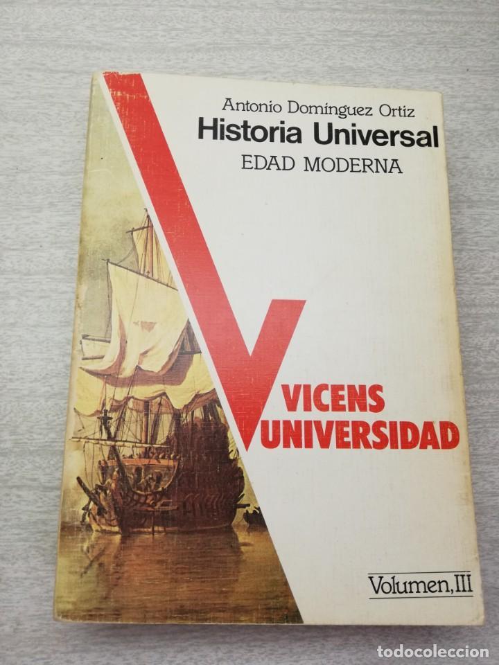 HISTORIA UNIVERSAL VICENS MODERNA (Libros de Segunda Mano - Historia Moderna)