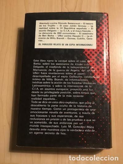 Libros de segunda mano: Cisne, Yo fui espía de Franco 1977 L. M. González-Mata - Foto 3 - 137980126
