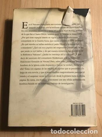 Libros de segunda mano: Sombras sobre el Vaticano 1999 Francisco Asensi - Foto 2 - 137984886