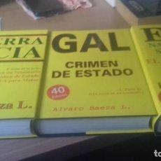 Libros de segunda mano: PACK DE TRES LIBROS DE ALVARO BAEZA. Lote 138043462