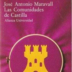 Libros de segunda mano: LAS COMUNIDADES DE CASTILLA - MARAVALL, JOSÉ ANTONIO 1979 (MADRID). Lote 138580518