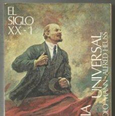 Libros de segunda mano: EL SIGLO XX TOMO 1, ESPASA CALPEGOLO MANN Y ALFRED HEUSS. Lote 139198294