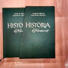 Libros de segunda mano: 'HISTÒRIA DE MONTSERRAT'. ANSELM M. ALBAREDA. PUBLICACIONS DE L'ABADIA DE MONTSERRAT. 2012. Lote 139277726