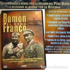 Libros de segunda mano: DVD RAMÓN EL OTRO FRANCO DOCUMENTAL MILITAR AVENTURERO AVIÓN PLUS ULTRA HISTORIA ESPAÑA -NO ES LIBRO. Lote 139872434