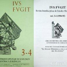 Libros de segunda mano: ESTADO MODERNO A UNO Y OTRO LADO DEL ATLÁNTICO (EL). ACTAS DEL CONGRESO INTERNACIONAL... 1996.. Lote 140846290