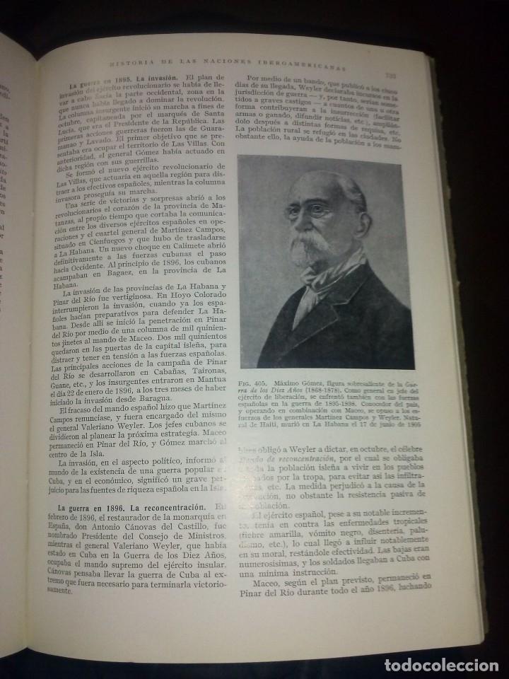 Libros de segunda mano: separata de la enciclopedia labor historia de las naciones iberoamericanas 1962 - Foto 2 - 141453514