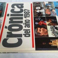 Libros de segunda mano: CRONICA DEL AÑO 1987-PLAZA JANES. Lote 141688486