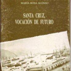 Libros de segunda mano: SANTA CRUZ VOCACION DE FUTURO - MARIA ROSA ALONSO. Lote 142494690