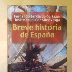Libros de segunda mano: BREVE HISTORIA DE ESPAÑA F. GARCIA CORTAZAR. J.M. GONZALEZ VESGA. ALIANZA. Lote 142506026