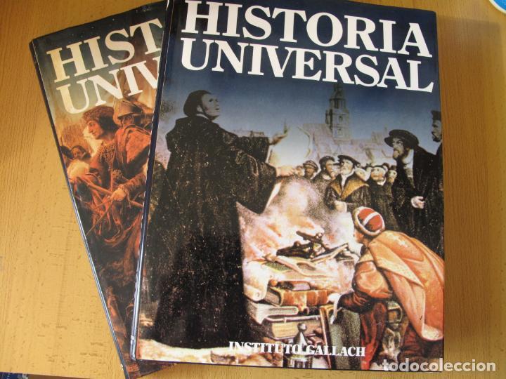 Libros de segunda mano: HISTORIA UNIVERSAL - ( SIGLO XVI ) TOMOS 9 Y 10.- INSTITUTO GALLACH - Foto 2 - 142692922
