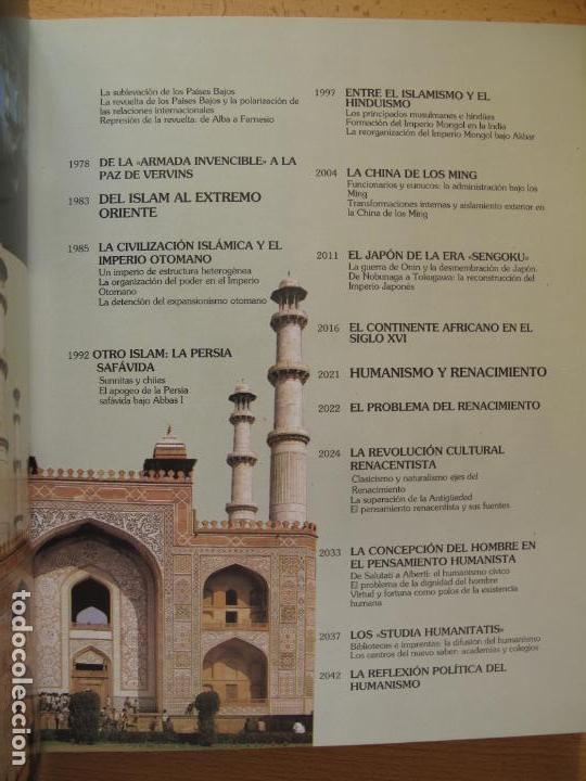 Libros de segunda mano: HISTORIA UNIVERSAL - ( SIGLO XVI ) TOMOS 9 Y 10.- INSTITUTO GALLACH - Foto 5 - 142692922