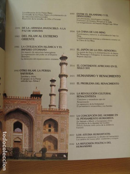 Libros de segunda mano: HISTORIA UNIVERSAL - ( SIGLO XVI ) TOMOS 9 Y 10.- INSTITUTO GALLACH - Foto 11 - 142692922