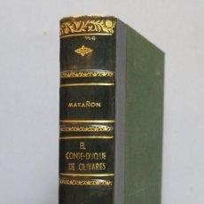 Libros de segunda mano: EL CONDE DUQUE DE OLIVARES. MARAÑON. Lote 142748662